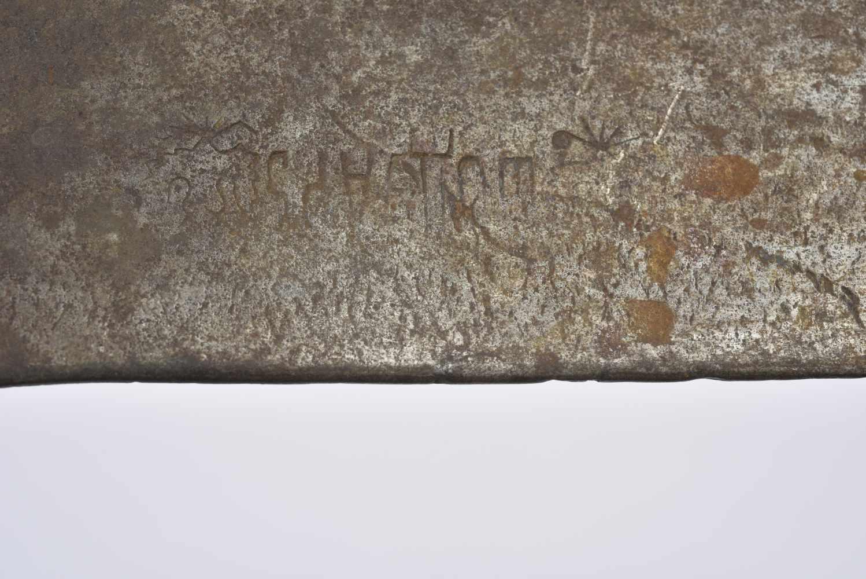 Pelle droite datée 1915 avec étui précoce. Cette pièce provient de la collection Philippe Rio. Son - Bild 3 aus 4