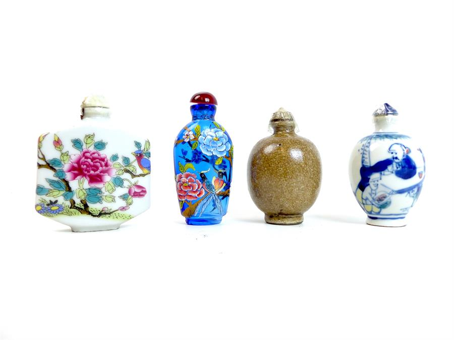 Lot 32 - Four Chinese Snuff Bottles
