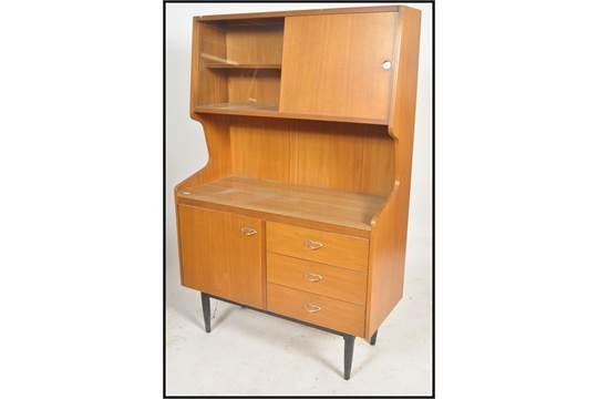 A Retro 1950 39 S Kitchen Dresser Cabinet Of Upright Form Having