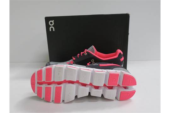 Grey/Neon Pink - Size 8.5 (RRP £110