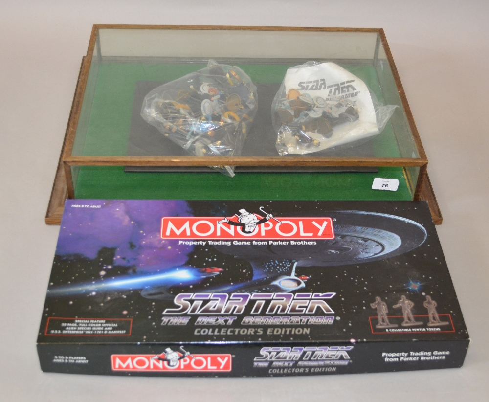 A Star Trek Monopoly Set And Star Trek Chess Set Together