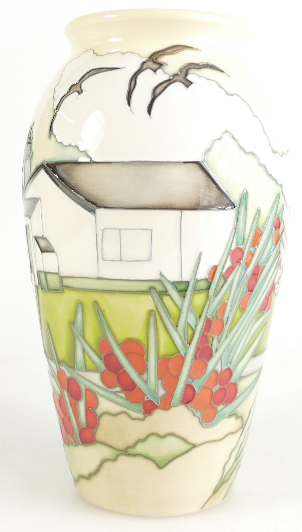 Lot 517 - Moorcroft vase The Night of the Guardian