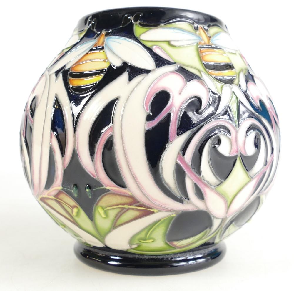 Lot 516 - Moorcroft Dance of the Bumblebee vase. S