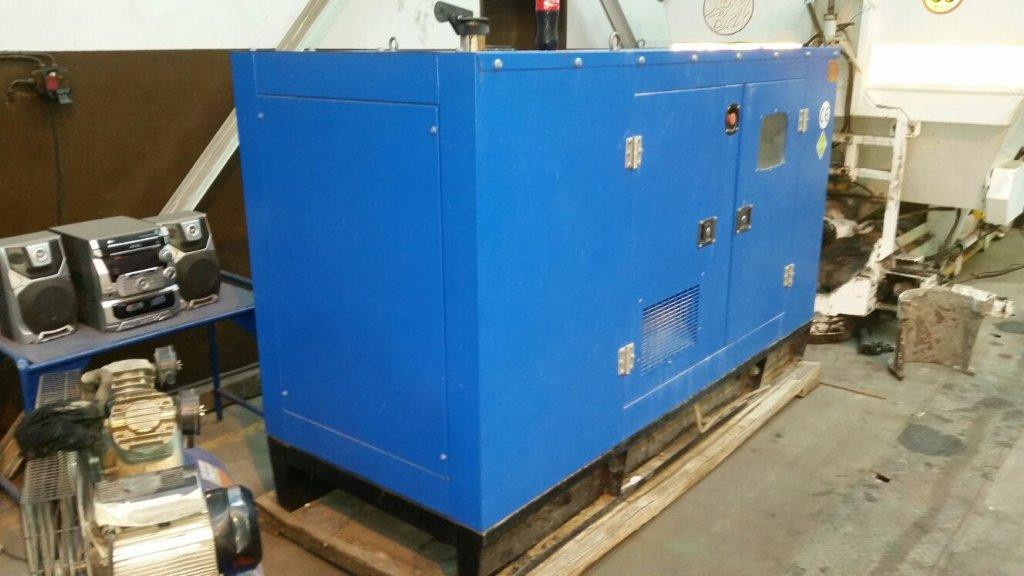 Hypower diesel generator 30kva silent with amf panel and all switch gear 3 phase 35 hours 2015 - Diesel generators pros and cons ...