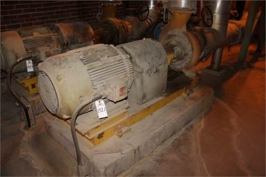Ahlstrom TLP-20 Pump, 75 HP | Location: PM3 2nd Floor Mezzanine