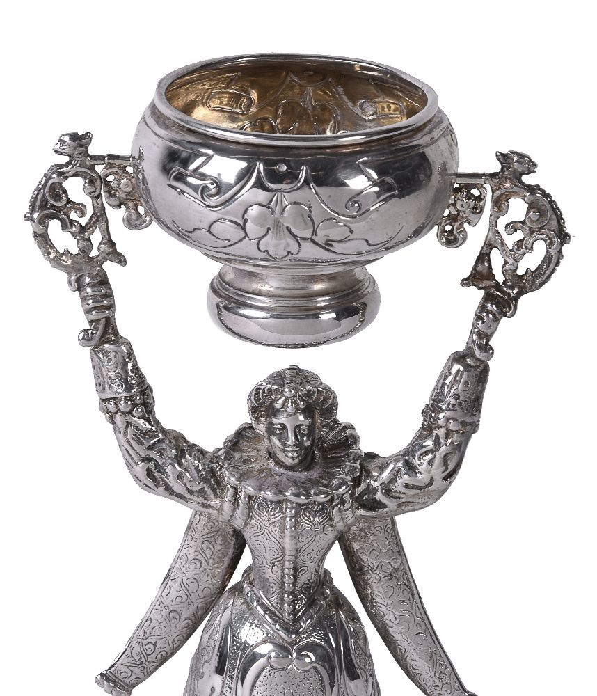 Lot 646 - A German silver wager cup by Neresheimer