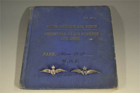 Militaria - WW2/Africa/RAF - South African Air Face: Observers Or