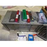 Drill bits, 2 cases