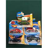 5x Hot Wheels HW Premier Diecast Vehicles - On Unopened Card, Comprising Of; #2/5072 Ford Gran