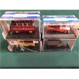 4x Oxford Diecast Models All On Display Boxes, Comprising Of; #CA001 Unigate Certificate 0835 Of