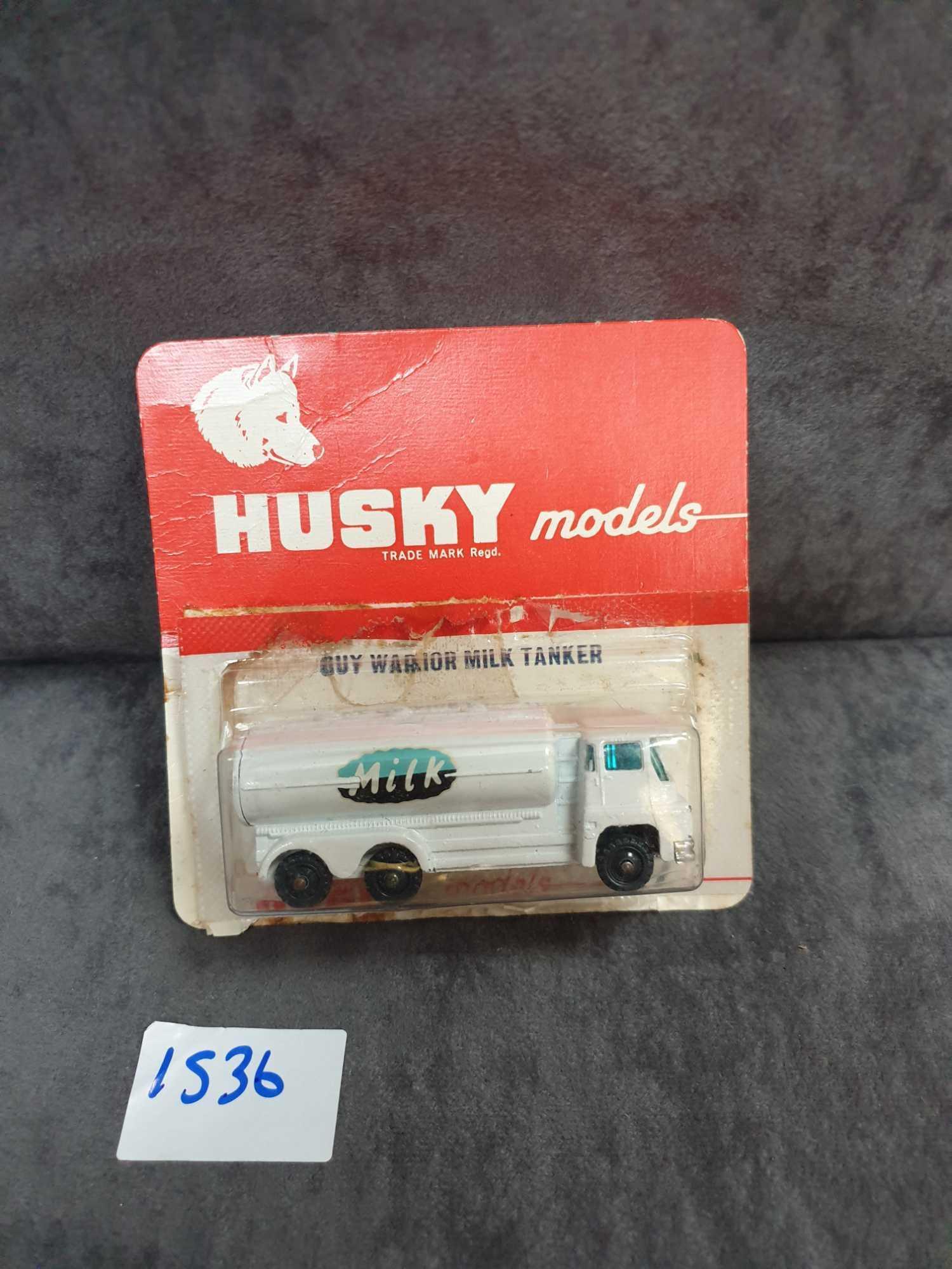 Husky Models Diecast #17 Guy Warrior Milk Tanker On Bubble Card