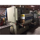 "Lot 84 - (977)Lobo Double Head 37"" Wide Belt Sander, set up for hydraulic"