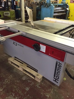 Lot 9 - (931)LIQUIDATION - Hammer 10' sliding table saw (hyd)