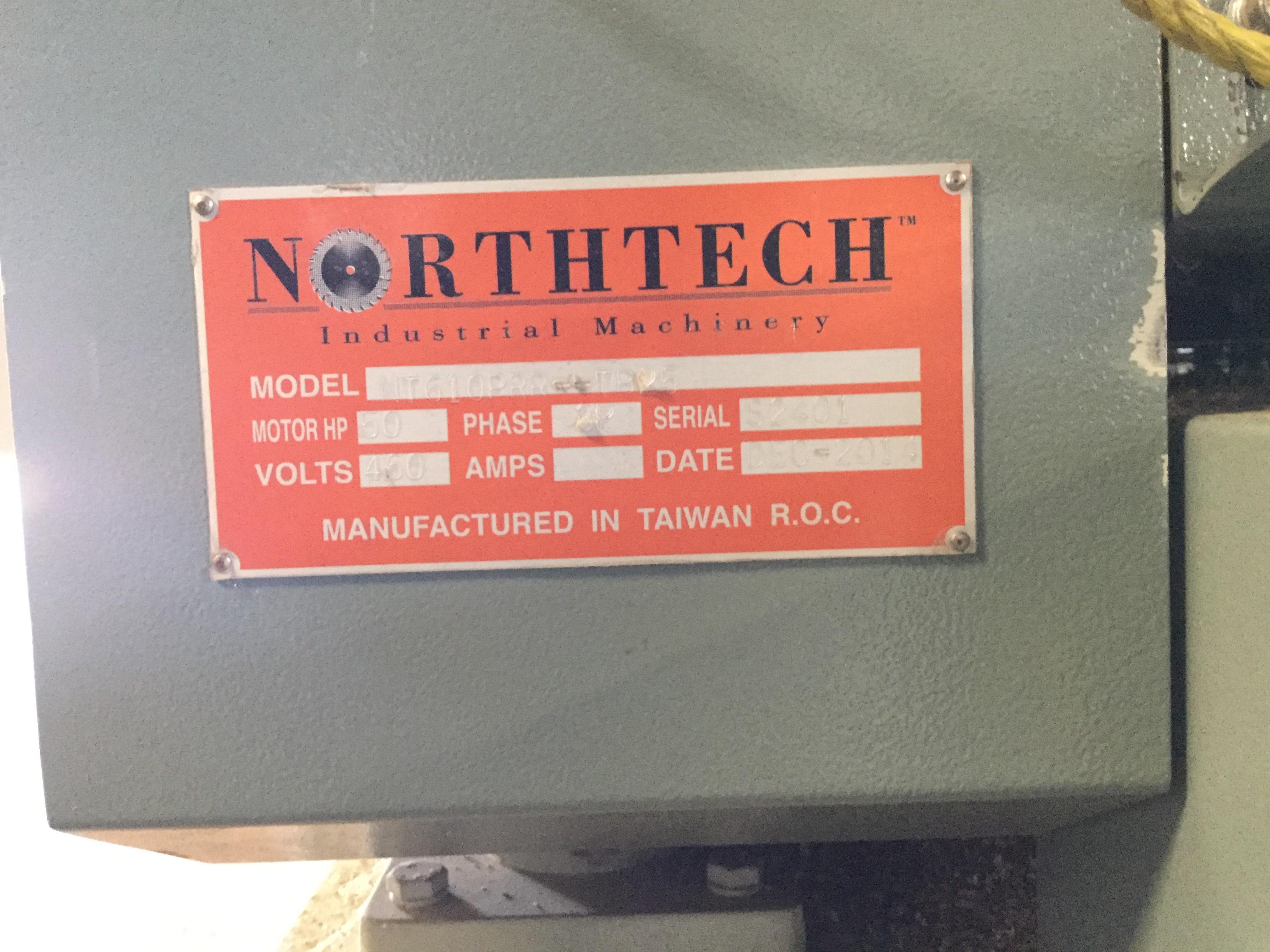 Lot 1 - (939)LIQUIDATION- NORTHTECH 27'' TOP AND BOTTOM PLANER SANDER LINE.(MFG 2014)