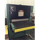 Lot 17 - TIMESAVERS 37'' WIDE BELT SANDER W/COMBO HEAD (lineshaft)