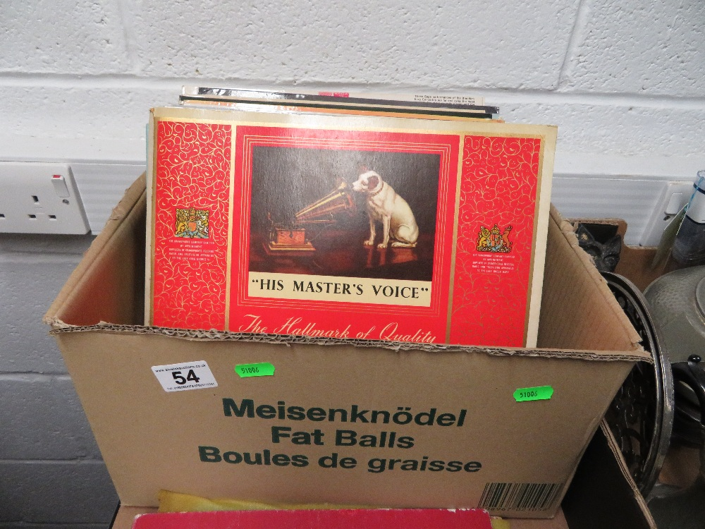 Lot 54 - Box of records