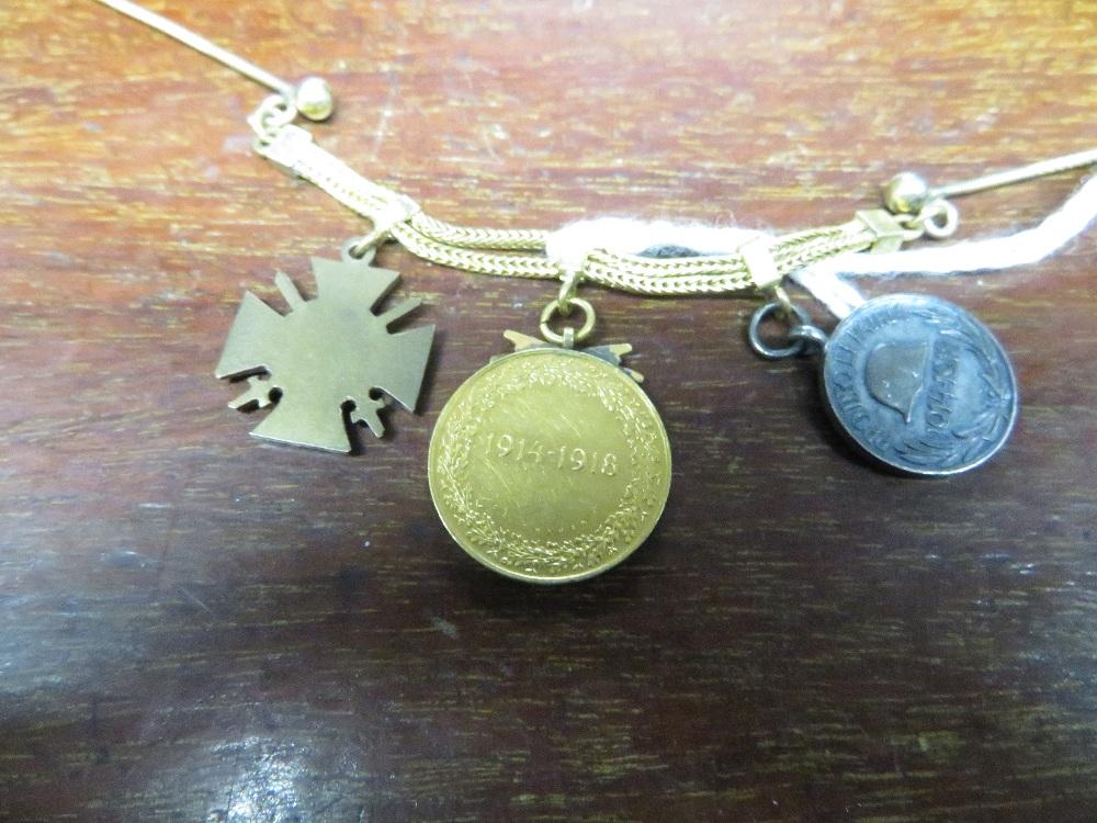 Lot 4 - German miniature medals - untested metals