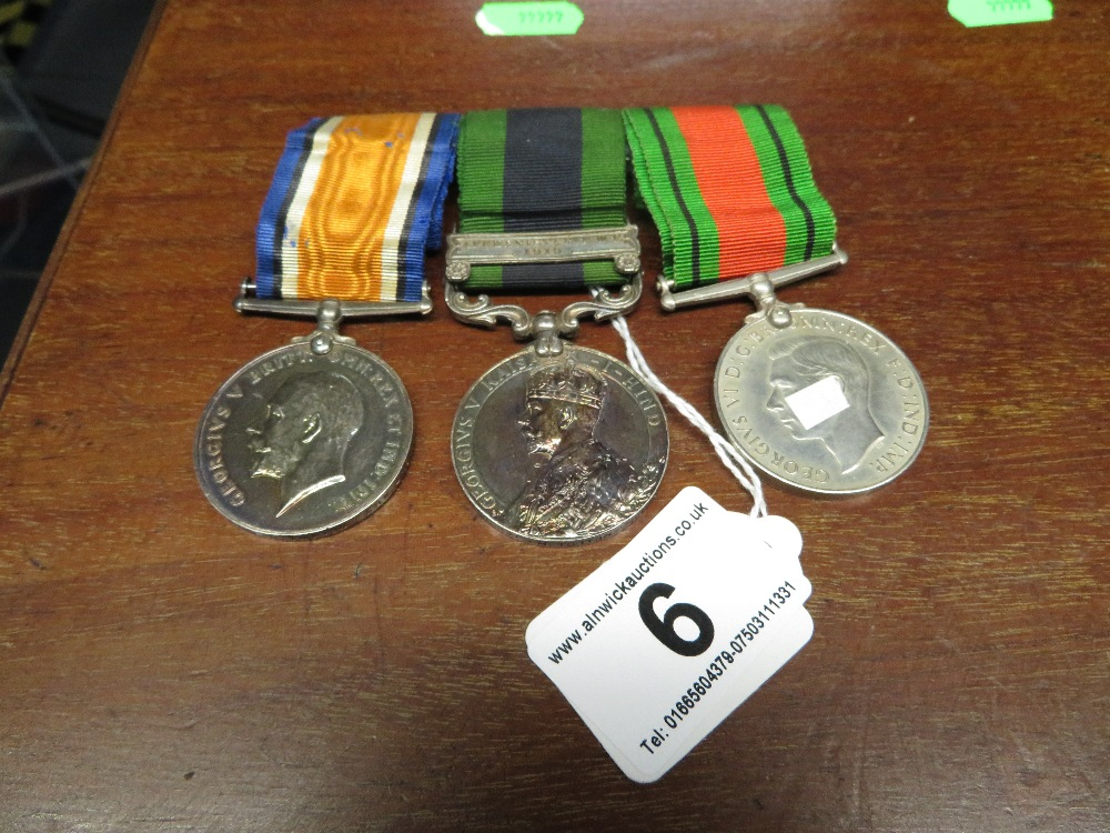 Lot 6 - Medals - one Afghanistan 1919