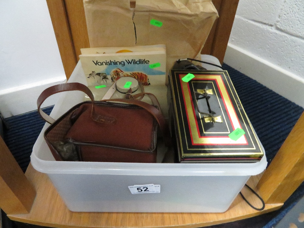 Lot 52 - Box of misc.