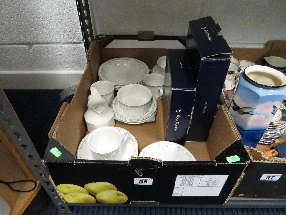 Lot 55 - Doulton dinner ware
