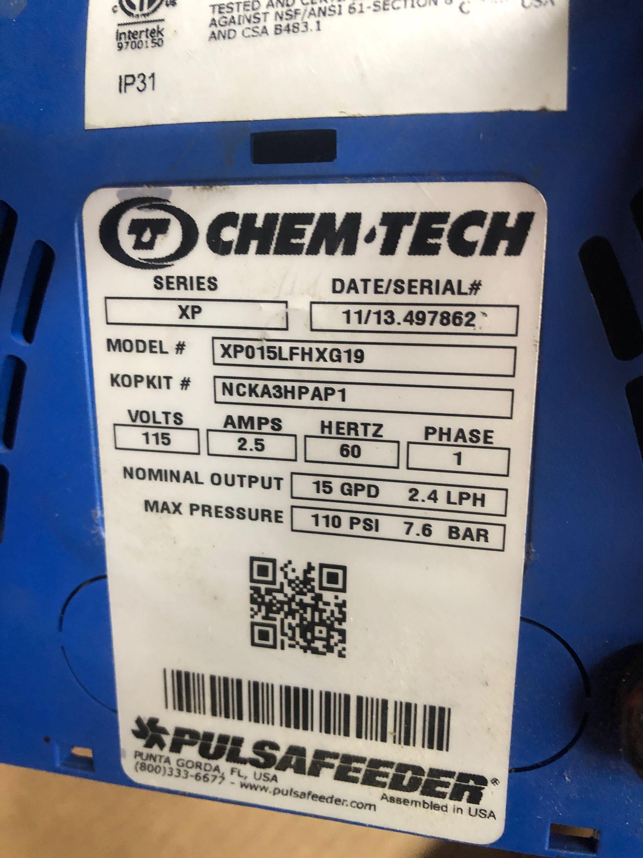 Lot 49 - Chem-Tech PulsaFeeder series XP, model XP015LFHXG19, precision dosing pump.