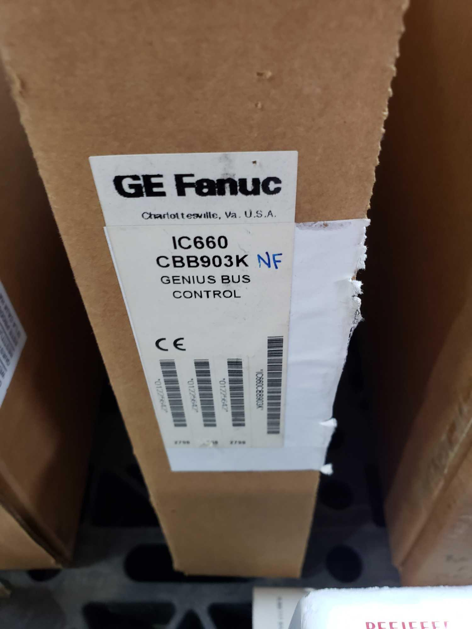 Lot 362 - GE Fanuc model IC660CBB903K genius bus control. New in open box.