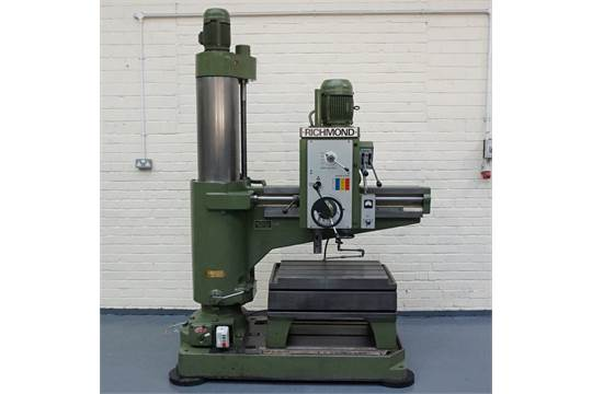a richmond envoy radial arm drill 48in radius spindle taper 4 rh bidspotter co uk Industrial Drill Press Industrial Drill Press Manufacturers