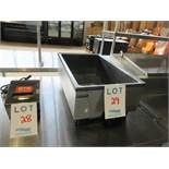 """VOLLRATH Cayenne countertop warmer w/ S/S exterior. (Mod: 17485). Approx. (13 1/2""""w x 21 1/2""""d x 9"""""""
