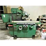"THOMPSON 8"" X 24"" HYDRAULIC SURFACE GRINDER, MODEL 2F, S/N 2F-662741, ELECTRO MAGNETIC CHUCK"