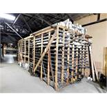 LOT - ENORMOUS QUANTITY OF USEABLE MATERIAL, WITH OR WITHOUT BOLT-TOGETHER RACK. MATERIAL INCLUDES