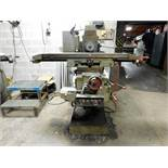 "CME ELGOIBAR HORIZONTAL UNIVERSAL MILLING MACHINE, MODEL FU-1, S/N 1701, 9-1/2"" X 43-1/4"" TABLE"