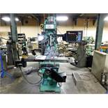 SOUTHWESTERN CNC 2-AXIS VERTICAL MILLING MACHINE, MODEL TRAK K3S, S/N 053CK13711, TABLE SIZE: 50""