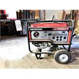 HONDA EB5000X PORTABLE GAS POWERED 120/240V GENERATOR, 5000 MAX WATTS