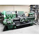 "MONARCH 28"" X 48"" ENGINE LATHE, MODEL 20CU, ACTUAL SWING: 24-1/2"", DISTANCE BETWEEN CENTERS: 48"","