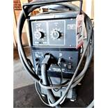 MILLER MILLERMATIC 250 WIRE FEED MIG WELDER, STOCK NO. 903291, S/N KC173258
