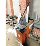 "METALEX HAND NOTCHER, MODEL ISF-10030B, CAPACITY: 6"" X 16 GA., 1996, S/N 850763"