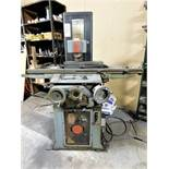 "REID PRECISION SURFACE GRINDER, MODEL 618[, S/N 19346M, 6"" X 18"" PERMANENT MAGNETIC CHUCK, 2-AXIS,"