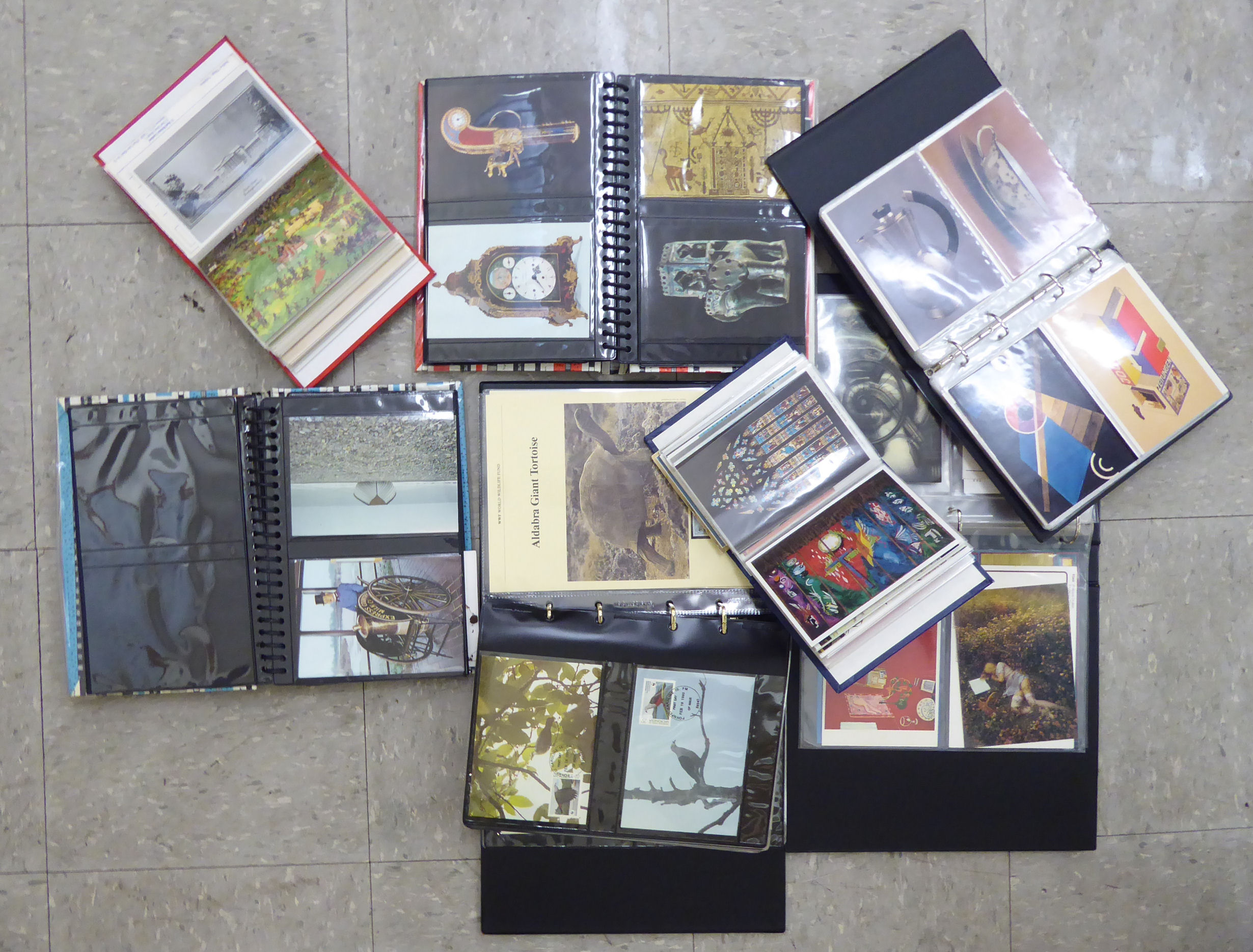 Lot 23 - Uncollated First Day covers and postcards: to include wildlife issues RSF