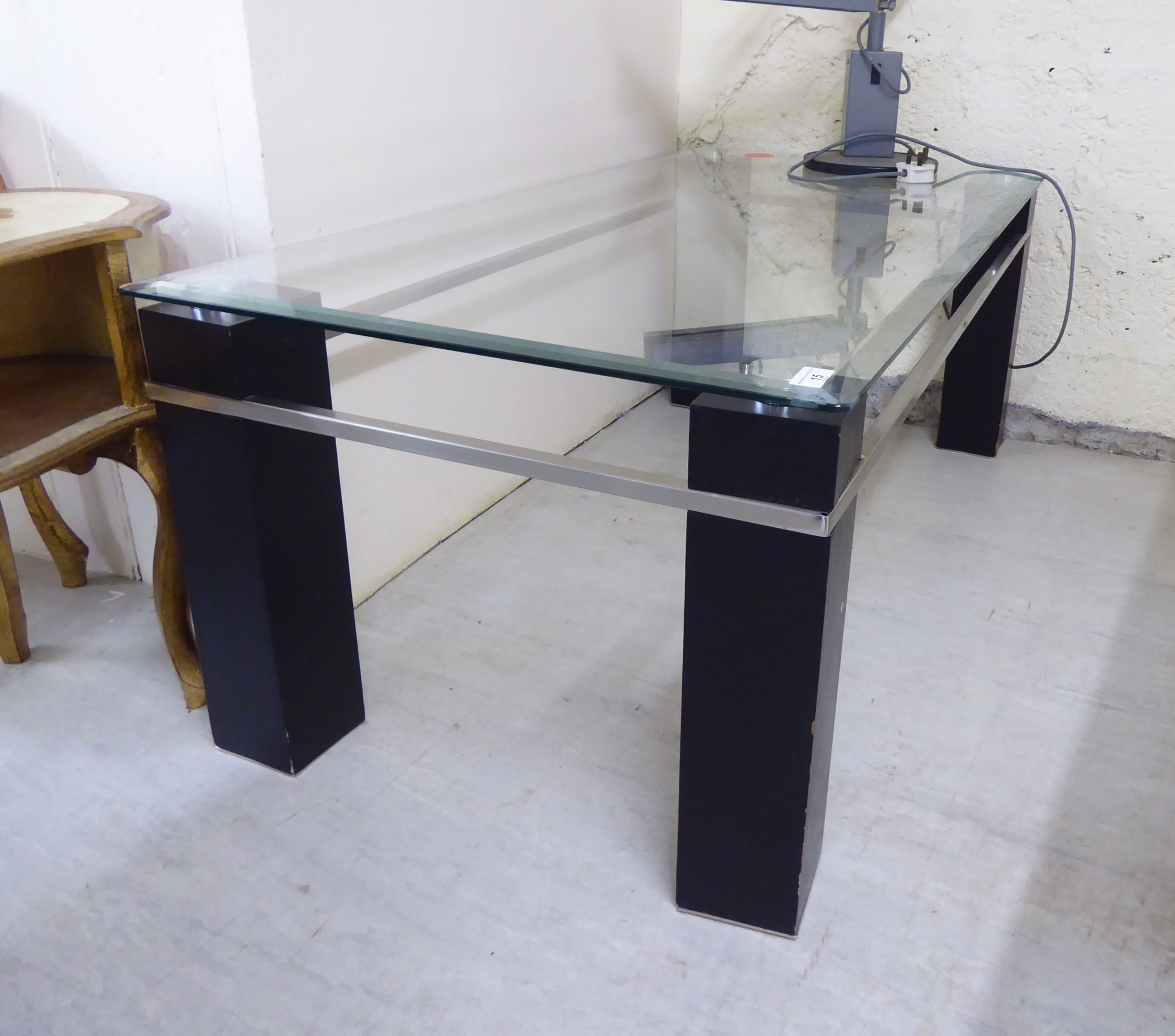 Lot 15 - A modern coffee table,