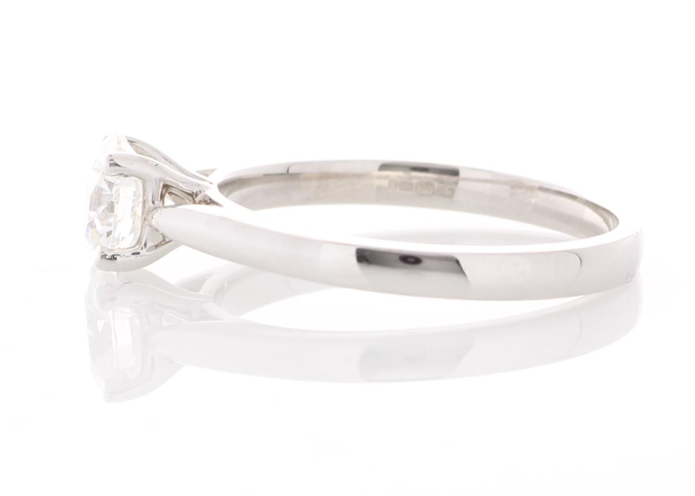 18ct White Gold Single Stone Prong Set Diamond Ring 0.73 Carats - Image 2 of 5
