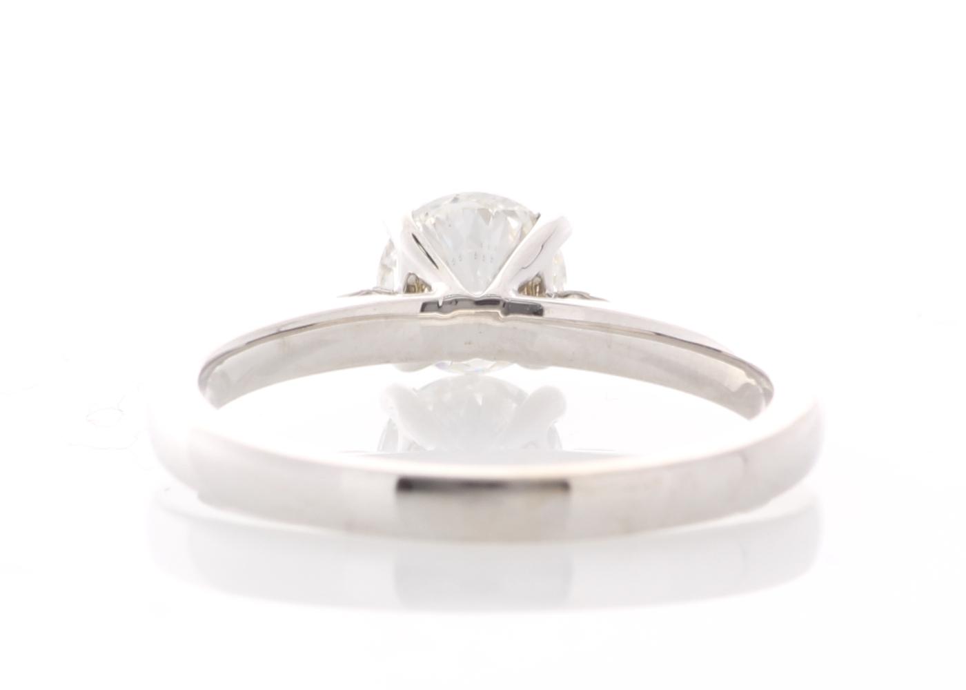 18ct White Gold Single Stone Prong Set Diamond Ring 0.73 Carats - Image 3 of 5