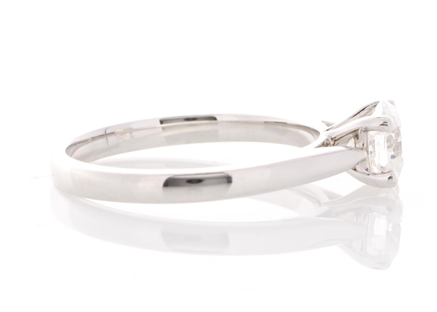 18ct White Gold Single Stone Prong Set Diamond Ring 0.73 Carats - Image 4 of 5