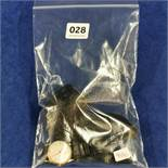 BAG LOT OF GOLD ITEMS TO INCLUDE GOLD WATCH