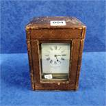LARGE CARRIAGE CLOCK CASED