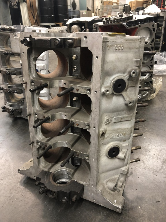 Lot 1647 - Used Race Engine Block Project