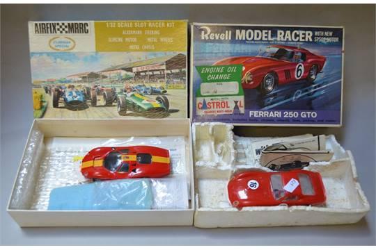 Two slot-car kits: Airfix/MRRC Clubman Special 1/32 Slot
