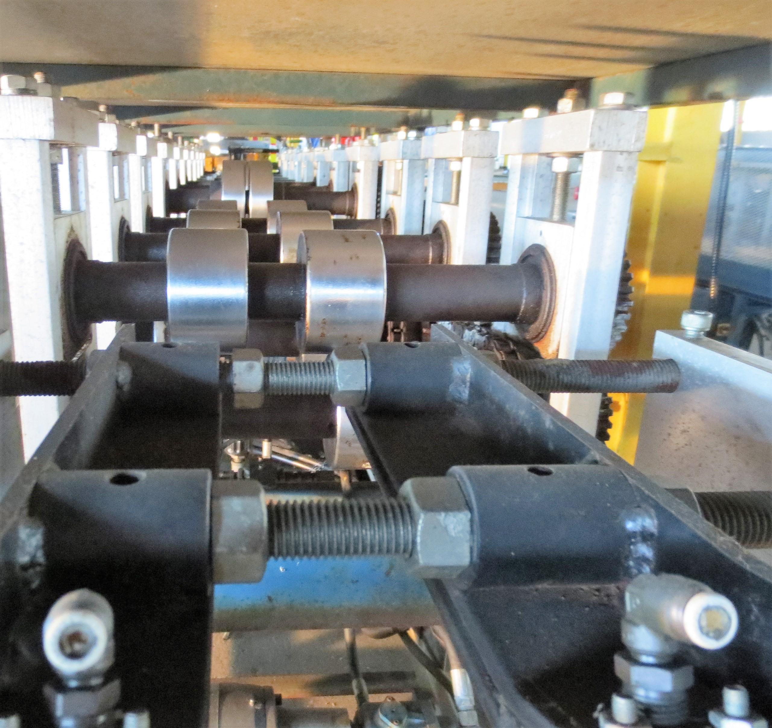 """Lot 4 - KNUDSON KS-0246 rollformer/FrameMaker (Stud Former) 11 stand, tooled for 3.5"""" metal studs, 2"""""""