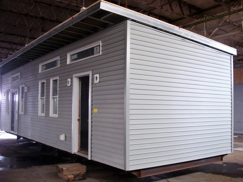 """Lot 39 - TRAILER W/ UNFINISHED EXTERIOR & INTERIOR 418SQ FT. HOUSE, APPROX. 44' X 16' X 14-1/8"""" OUTSIDE"""