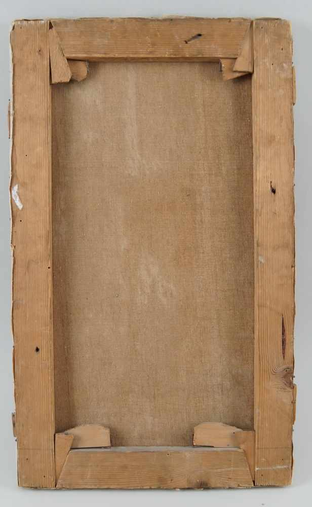 Lot 229 - Die Beichte, Öl auf Leinwand, signiert, F. Barella, 1913, 55x33cm- - -24.00 % buyer's premium on the
