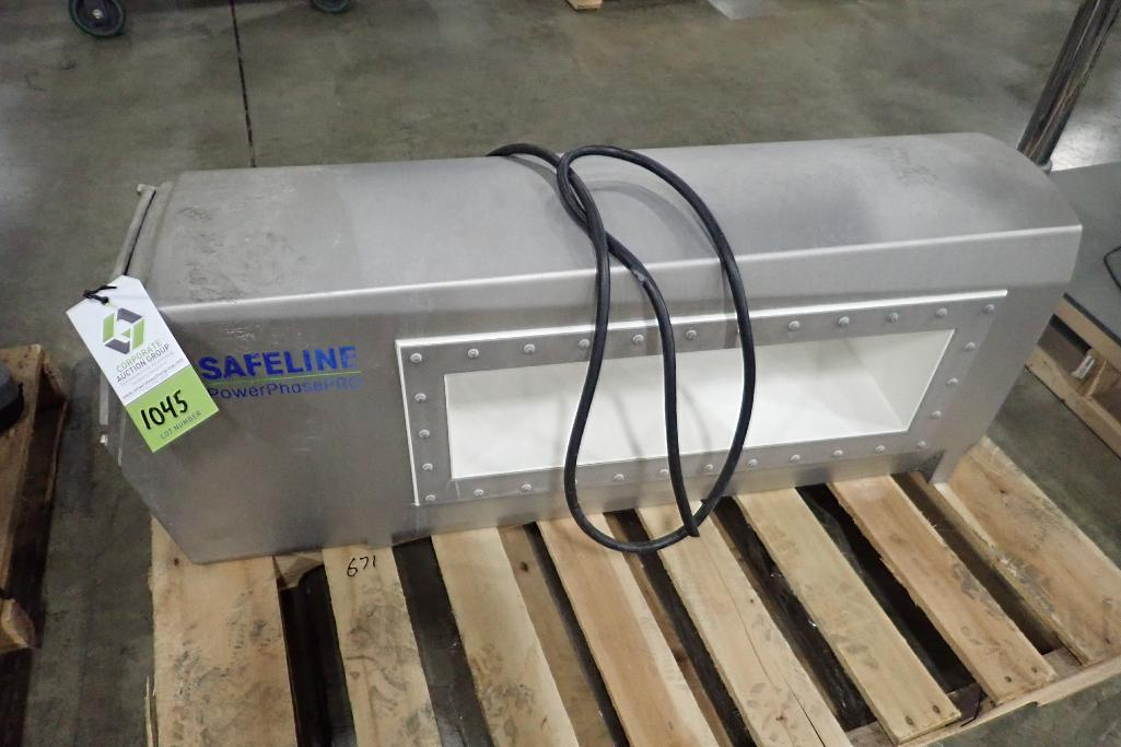 Lot 1045 - Safeline metal detector head, 24 in. wide x 7 in. tall aperture,. **Rigging Fee: $50** (Located in 3